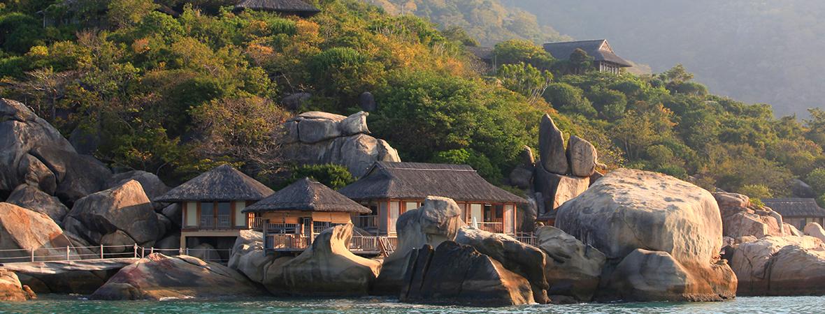 ベトナムの隠れ家的リゾートSix Senses Ninh Van Bay3泊5日