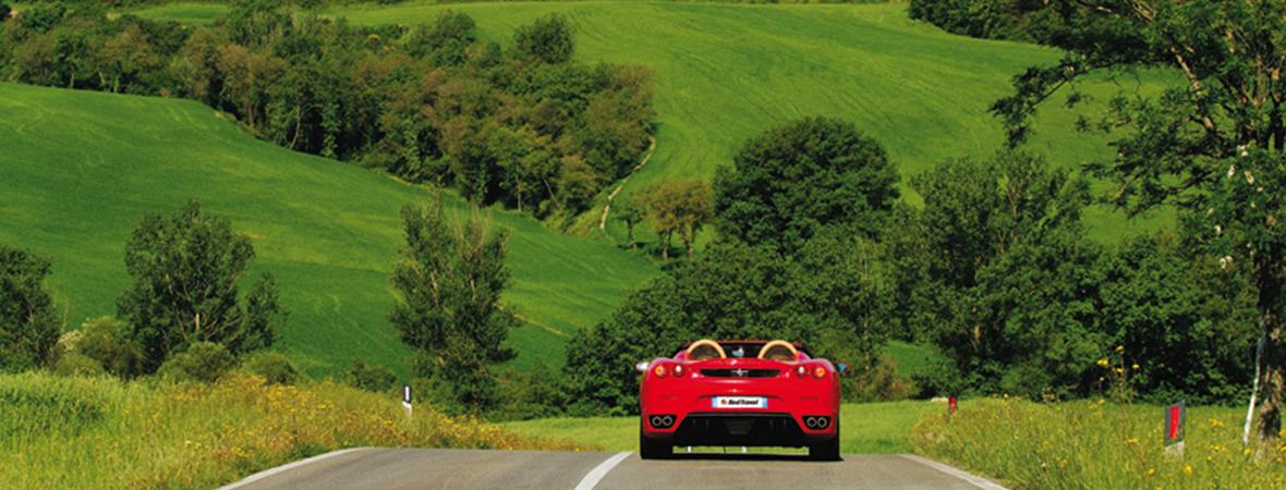 イタリア in フェラーリ