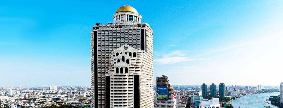 天空のバーを戴く白亜の高層ホテル「ルブアアットステートタワー」3泊4日