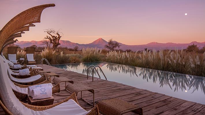 星降る砂漠の楽園リゾート「ティエラ アタカマ」3泊7日